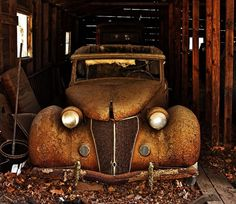 "'36 Ford Barn Find - reminds me of ""Mr 36"" Doug Doyle"