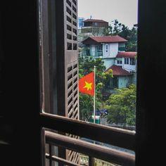 Window to Vietnam's soul. #Hanoi