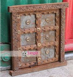 This is Solid Wooden Hand Carved Antique Indian Shekhawati Window. We collect antique items from different parts from india and export them. This Type of Windows comes in different sizes and designs. Indian antiques is very famous all our world. @jangidart  http://www.jangidart.trustpass.alibaba.com/