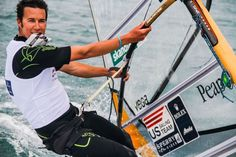 Bob Willis is on the US Sailing team and will compete in London in the mens windsurfing events.