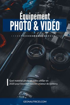 Gopro, Carte Sd, Photography Gear, Digital Nomad, Blog Voyage, Photo And Video, French, Learn Photography, Photography Tips