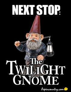 Next Stop: The Twilight Gnome