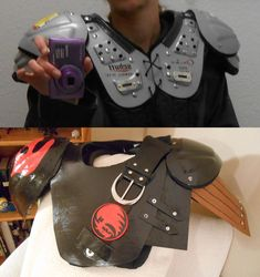 Hiccup Cosplay Progress: Converting Recycled Sports Equipment into Armor