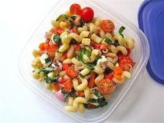 Mediterranean colorful Pasta Salad