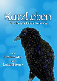 """altes Cover der Kurzgeschichten-Sammlung """"KURZLEBEN"""""""