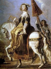 Anne of Austria, Queen of France, on horseback by Jean de Saint-Igny @ Palace of Versailles French History, European History, Art History, Louis Xiv, Versailles, Ludwig Xiv, Old Portraits, Horse Artwork, Old Paintings