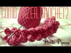 Como fazer Ponto Pipoca - Aprendendo croche - Tipos de pontos - Aula nº7 - YouTube