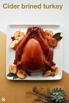Cider Brined Turkey