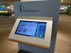 館内案内 デジタル - Google 検索 Interactive Touch Screen, Digital Signage, Screens, Digital Marketing, Walmart, Texture, Digital Signature, Gift, Canvases