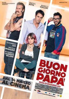 Buongiorno Papà  Il nuovo film di Edoardo Leo, con Raul Bova e Marco Giallini.
