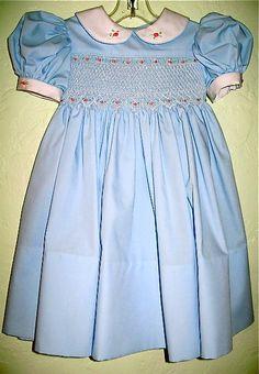 smocked+dresses | Adorable Smocked Dresses for Little Girls on Etsy — Sassy and George