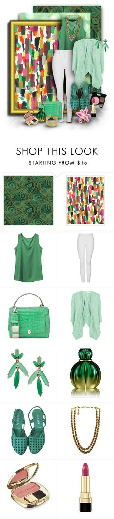 """""""Off-White Pants for Spring-Summer"""" by franceseattle ❤ liked on Polyvore featuring York Wallcoverings, Khristian Howell, Topshop, Fenn Wright Manson, Oscar de la Renta, Trilogy, Prada, Givenchy, Chanel and ANNIE"""