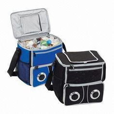 Shop at Deluxe for the Sound Cooler that can be customized with your logo or personalized message. Order Sound Cooler in bulk at wholesale prices today. Innovation, China, Cool Stuff, Prints, Innovative Products, Speakers, Tote Bags, Grey, Gray