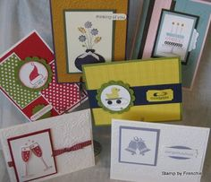 Stamp & Scrap with Frenchie: Desk top note pad holder class in the mail Blog Candy