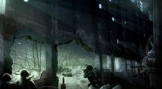 Call of Duty: World at War Concept Art