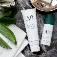 AP 24 Anti-Plaque Fluoride Toothpaste uses a safe, gentle form of fluoride to remove plaque and protect against tooth decay. Nu Skin, Whitening Fluoride Toothpaste, Ap 24 Toothpaste, Stained Teeth, Beauty Advice, Skin Elasticity, Anti Aging Skin Care, Body Lotion, Dog Beach