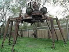 Incredible Scrap Metal Sculpture Park by Dr. Evermor – DesignSwan ...