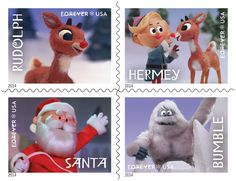 Rudolph the Red-Nosed Reindeer Forever® stamps, 2014