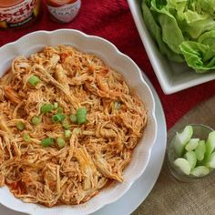 This Easy Pressure Cooker Shredded Buffalo Chicken Recipe is perfect for your weeknight meals.