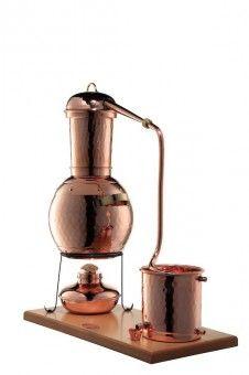"""Alambic Arabia 2L avec réchaud et tamis aromatique - """"CopperGarden®"""" (229)"""