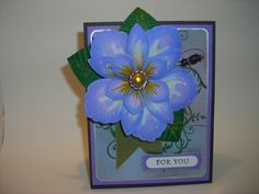 Build a bloom FOR YOU by TLady - Cards and Paper Crafts at Splitcoaststampers