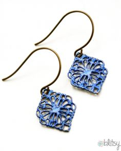 Inka Gold Earrings