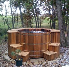 Redwood jacuzzi - Like this?