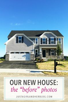 Love this gorgeous home! It's new construction, a Ryan Homes Palermo, and I…
