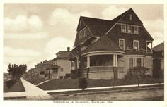 Homes in Irvington District in 1905