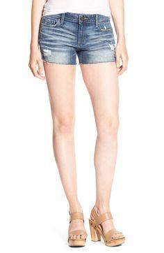 DL1961 'Renee' Cutoff Denim Shorts (Haskin) $115 available at #Nordstrom