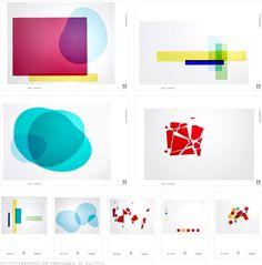 ステンドグラス会社のロゴ/ポスター/DM/グラフィックツール「OMNI GLASS」(cl:オムニグラス)