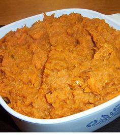 Garlic Coconut Mashed Yams
