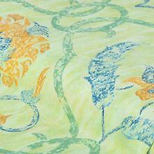 Outdoor-Gewebe 'Blumen', grün Shops, Diagram, Tapestry, Map, Painting, Outdoor, Home Decor, Fabrics, Florals