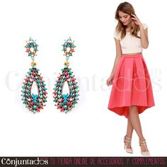Los #pendientes Irene son cómodos, alegres y conjuntan con todo ★ 12,95 € en https://www.conjuntados.com/es/pendientes-irene-con-cuentas-multicolor.html ★ #novedades #earrings #conjuntados #conjuntada #joyitas #lowcost #jewelry #bisutería #bijoux #accesorios #complementos #moda #fashion #fashionadicct #picoftheday #outfit #estilo #style #GustosParaTodas #ParaTodosLosGustos