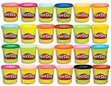 Advertisement - Play-Doh Modeling Compound Case of Colors, Non-Toxic, Mu. - List of the most beautiful baby products Play Doh, Continents Activities, Preschool Learning Activities, Infant Activities, Physical Activities, Healthy Meals For Kids, Kids Meals, Indoor Recess, Homemade Playdough