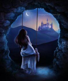 Dreaming  -  Digital Art by us US based artist sugargrl14