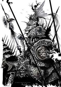 Ian Miller illustration - Google Search