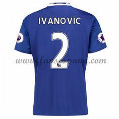 Camisetas De Futbol Chelsea Ivanovic 2 Primera Equipación 2016-17