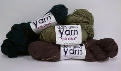 Silk Cloud Yarn Giveaway Could make a beautiful scarf!   :>