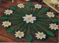 free crochet Daisy Web Doily Pattern, thanks so xox
