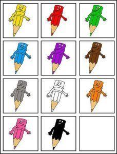 Color sorting and matching activities Color Activities Kindergarten, Preschool Colors, Teaching Colors, Autism Activities, Montessori Activities, Fun Activities For Kids, Preschool Worksheets, Ideas Habitaciones, Color Games