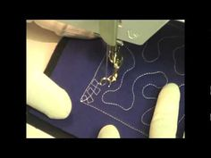 free motion quilting demonstration and projects.  365 projects. one per day.