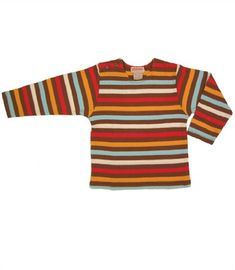5 Color Stripe Chocolate Tee by Zutano 1824 months ** To view further for this item, visit the image link. (This is an affiliate link) #BabyBoyTops