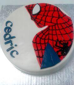 Gâteau SpiderMan - (www.mllesgateaux.com)