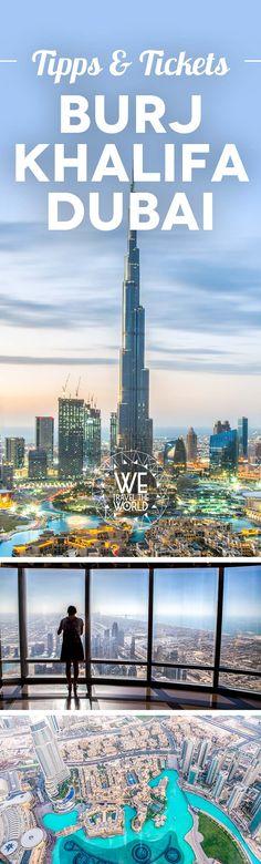 Burj Khalifa Tickets kaufen – die besten Tipps für das richtige Burj Khalifa Ticket