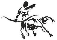 virgo sign tribal design - Pesquisa Google