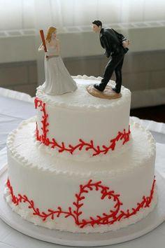 baseball Wedding Cakes | visit pinterest com