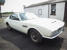 1969 Aston Martin DBS Barn Find - Silverstone Auctions