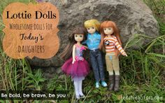 REVIEW and GIVEAWAY – Lottie Dolls |  Wholesome doll alternative to fashion dolls