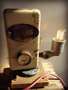 Why should Etsy feature authentic vintage lighting on their Browse pages when there are so many awesome Frankentiques and Fauxtiques, like this one?